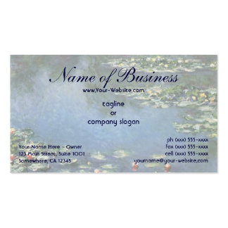 Water Lilies (1906) by Claude Monet Business Card