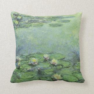 Water Lilies 1914 Claude Monet Fine Art Throw Pillow