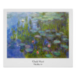 Water Lilies, 1915 Claude Monet cool, old, master, Poster