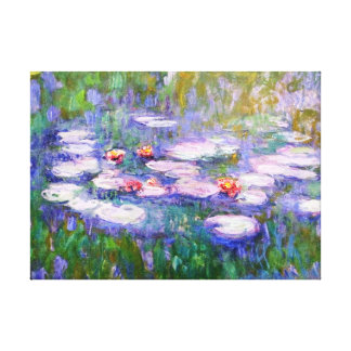 Water Lilies 1919 Claude Monet Fine Art Canvas Print