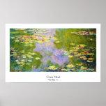 Water Lilies, 1919  Claude Monet Poster