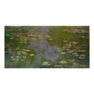 Water Lilies, 1919 Poster