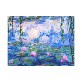 Water Lilies 1 Canvas Print