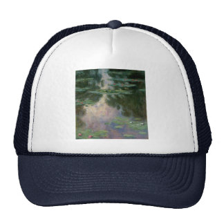 WATER LILIES 1 MESH HAT