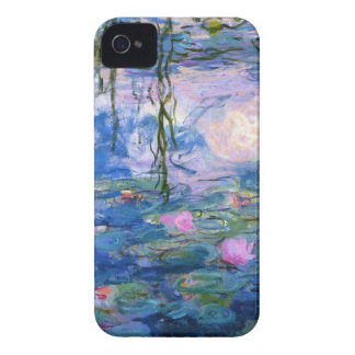 Water Lilies 1 iPhone 4 Cases