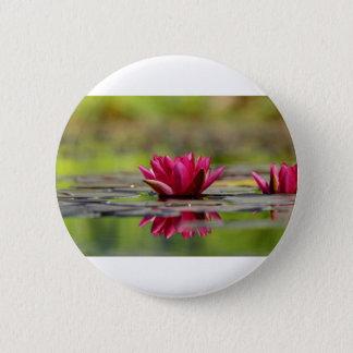 Water Lilies 2 Inch Round Button