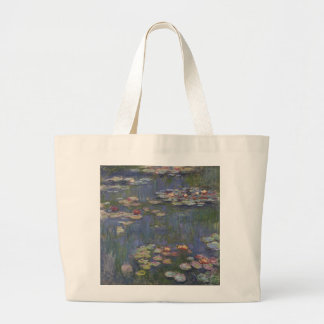 Water Lilies by Claude Monet Tote Bags