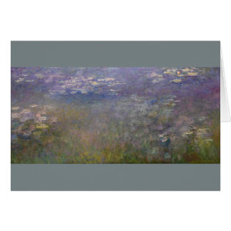 Water Lilies by Claude Monet Card