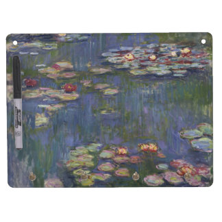 Water Lilies by Claude Monet Dry-Erase Board