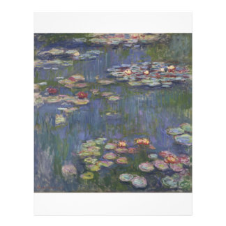 Water Lilies by Claude Monet Flyer