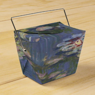 Water Lilies by Claude Monet Party Favor Boxes