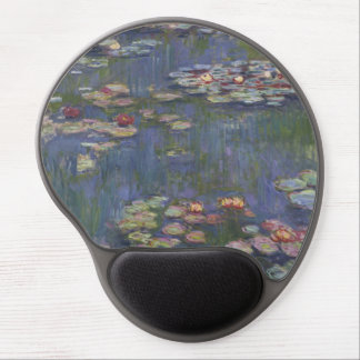 Water Lilies by Claude Monet Gel Mousepad
