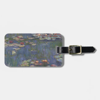 Water Lilies by Claude Monet Tags For Bags