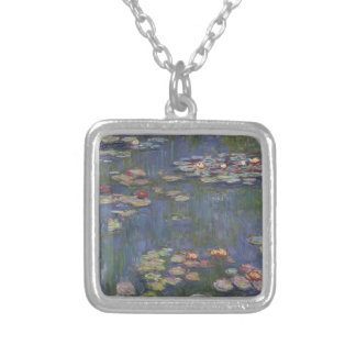 Water Lilies by Claude Monet Custom Necklace