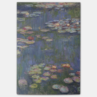Water Lilies by Claude Monet Post-it® Notes