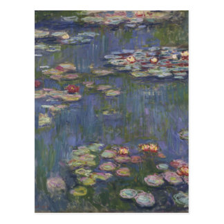 Water Lilies by Claude Monet Postcards