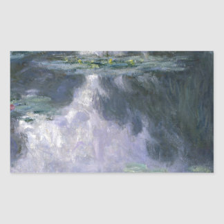 Water Lilies by Claude Monet. Sticker