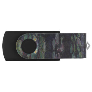 Water Lilies by Claude Monet USB Flash Drive
