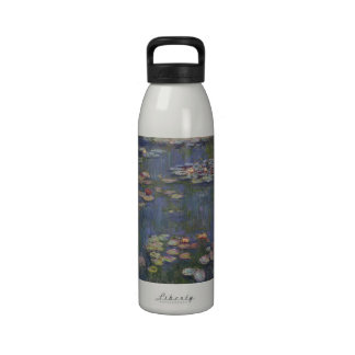 Water Lilies by Claude Monet Drinking Bottle