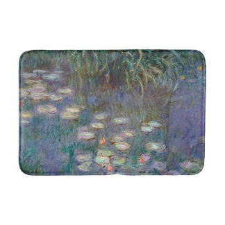 Water Lilies by Monet Bathroom Mat