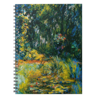 Water Lilies by Monet Note Book