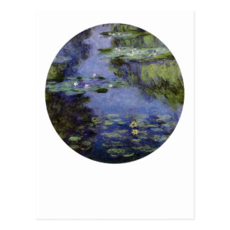 Water-Lilies by Monet Postcard