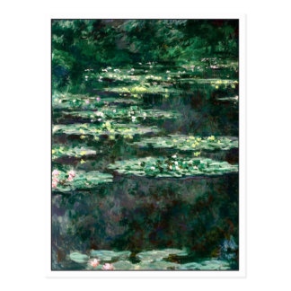 Water Lilies by Monet Postcard
