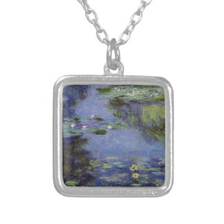 Water-Lilies by Monet Silver Plated Necklace