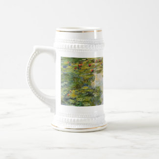 Water Lilies - Claude Monet Beer Stein