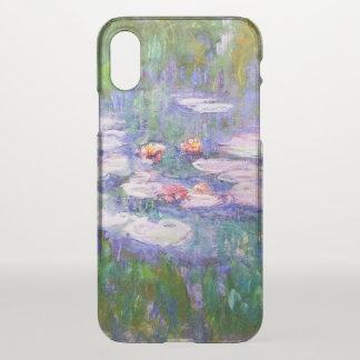 Water Lilies Claude Monet Fine Art iPhone X Case