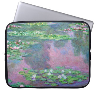 Water Lilies Claude Monet Fine Art Laptop Computer Sleeves