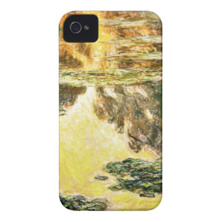 Water Lilies Claude Monet iPhone 4 Case-Mate Cases