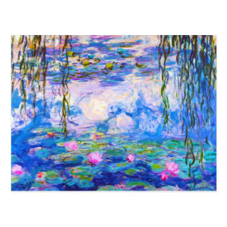 Water Lilies Claude Monet Postcard