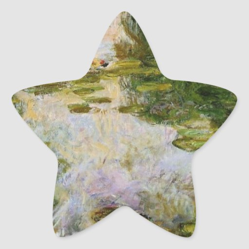 Water Lilies - Claude Monet Stickers