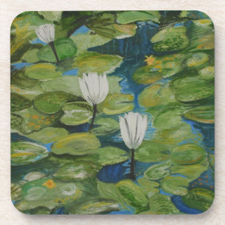 WATER LILIES Coasters (Set of 6)