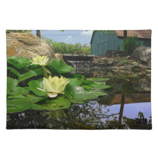 Water Lilies In Pond Placemat