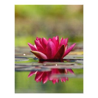 Water Lilies Letterhead