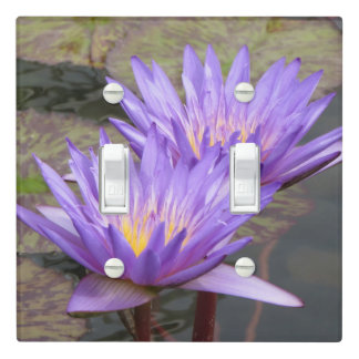 Water Lilies Light Switch Cover