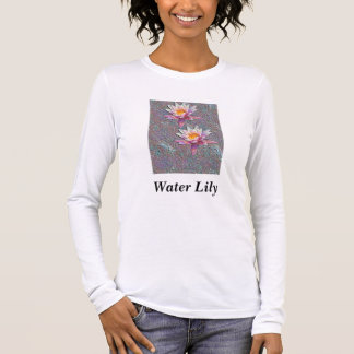Water Lilies Long Sleeve T-Shirt