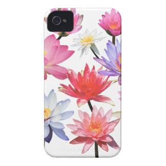Water Lilies & Lotus iPhone 4 Case