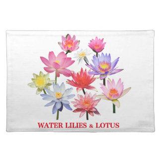 Water Lilies & Lotus Placemat