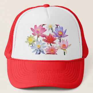 Water Lilies & Lotus Trucker Hat