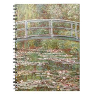 Water Lilies ~ Monet Spiral Notebooks