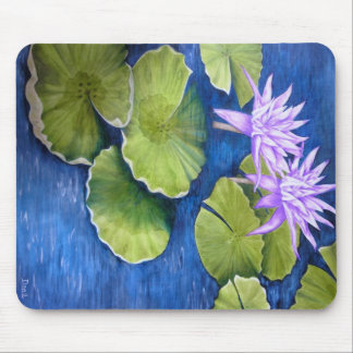 Water Lilies Mouse Pad