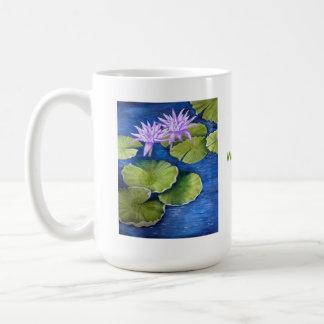 Water Lilies Coffee Mugs
