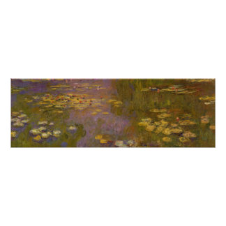 Water Lilies Nympheas Poster