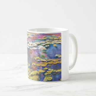 Water Lilies on a Pond Coffee Mug