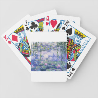 Water Lilies Painting Bicycle Playing Cards