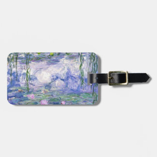 Water Lilies Painting Luggage Tag