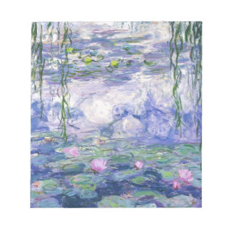 Water Lilies Painting Notepad